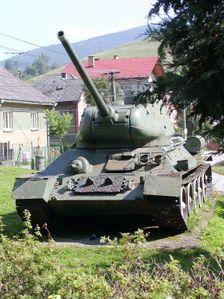 tank v Klenovci
