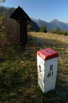 turistický hraničný prechod nad Lesnicou