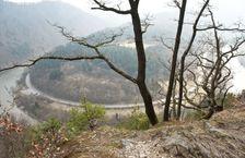 Strecniansky priesmyk z hrebena Plesela (981m)