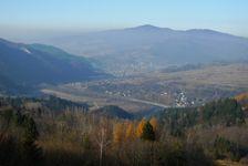 pohľad na Szczawnicu