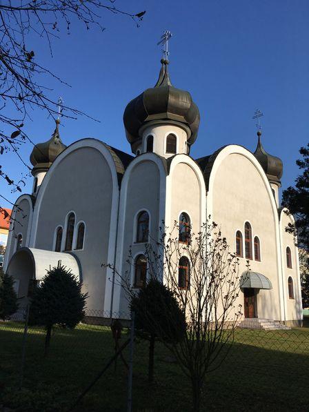 Pravoslávny chrám sv. Cyrila a Metóda