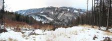 Vyhlad z Bukoveho vrchu 1019m