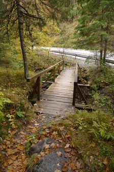 most cez Demänovku pri Demänovskej jaskyni slobody
