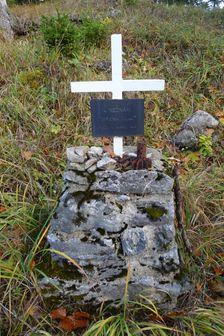 hrob štyroch neznámych vojakov pod Kúpeľom