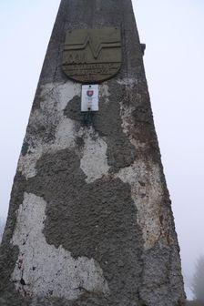geodetický bod na Minčole
