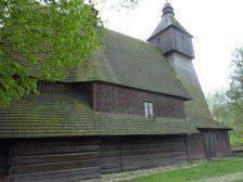 Drevenný kostolík v Hervatove