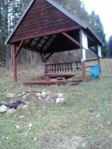 Prístrešok pri horárni Chrastková