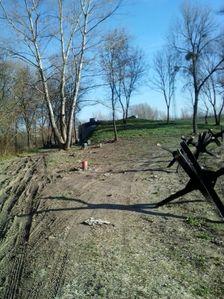 Bunker a protitankové zátarasy