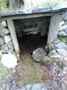 Vodný prameň pod Kozím chrbátom