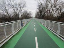 Fahrradbrücke der Freiheit - Most slobody