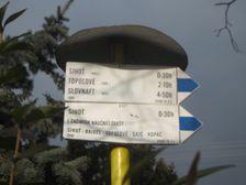 Turistický smerovník Kalinkovo