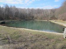 Vodná nádrž na Vištuckom potoku