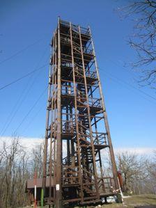 Vyhliadková veža Veľká Homoľa