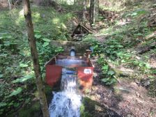 Vodný prameň v Teplej Doline