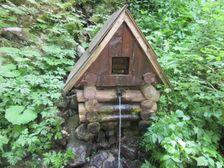 Vodný prameň nad Troma studničkami