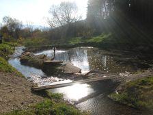 Termálna voda v Kalamenoch