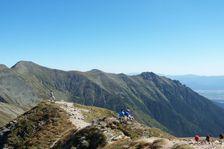 Volovec smerom na Hrubý vrch a Otrhance