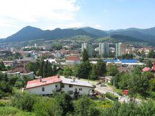 Ružomberok - centrum od Likavky