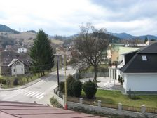 Križovatka Tichej a Zelenej ulice v RK
