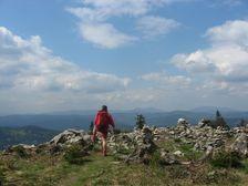 Skalné mesto na hrebeni Javorníkov