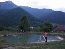 Rojkov - termálne jazero
