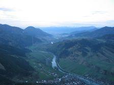 Havran - pohľad smerom na Švošov a Ružomberok