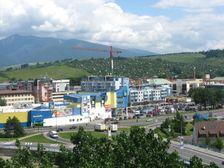 Liptovský Mikuláš - vjazd do mesta od juhu (D1)
