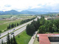 Liptovský Mikuláš - vjazd do mesta od diaľnice D1