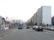 ulica I.Houdeka od severu