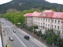 Považská ulica pri nemocnici