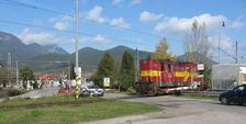 Železničné priecestie v Liskovej