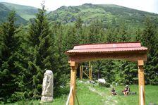 Symbolický cintorín v Žiarskej doline