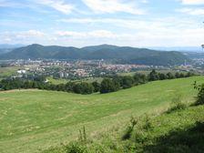 Banská Bystrica od Laskomeru