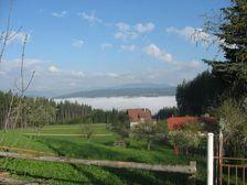 Kornica a pohľad smerom na Moravu