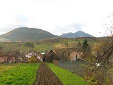 Kalameny - pohľad na hrebeň Choča