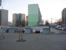 ulica I.Houdeka stred smerom na juh