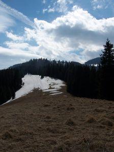 Vtáčnik a pohľad smerom na Šiprúň