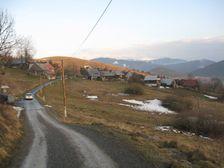 Veľké Borové v zime - január 2008