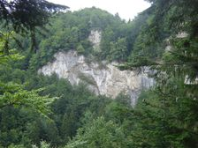 Skaly Brankovského vodopádu