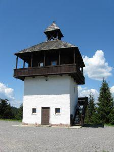 Veľké Borové - hraničná strážna veža