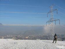 400KV vysoké napätie na trase Sučany-Liptovská Mara