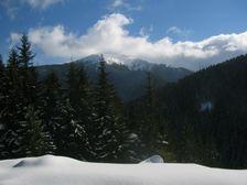 Bôr od Krížsej doliny v zime