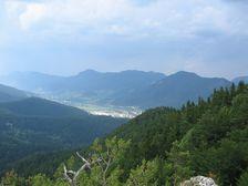 Veľká skala - smerom na západ mesta RK - Klačno