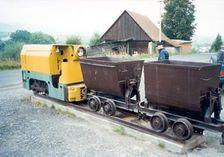 Banský vlak v Dúbrave