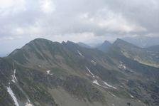 Priíslop -výhľad smerom na Hrubú kopu a Tri kopy