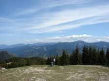 Maliné Brdo - vrchol - smerom na Nízke Tatry