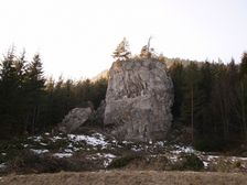 Krkavá skala (The Krkava rock)
