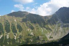 Rohačska dolina smerom na Volovec a Ostrý Roháč