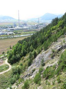 Liskovsky kamenolom - pohlad smerom na juh