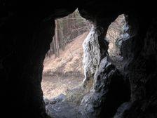 Liskovská jaskyňa - zapadný portál